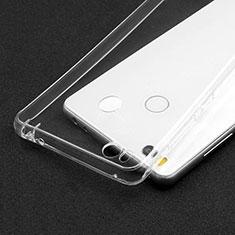 Silikon Schutzhülle Ultra Dünn Tasche Durchsichtig Transparent T02 für Xiaomi Mi 4S Klar