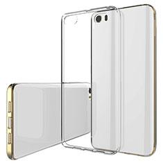 Silikon Schutzhülle Ultra Dünn Tasche Durchsichtig Transparent T02 für Xiaomi Mi 5 Klar