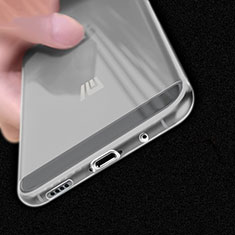 Silikon Schutzhülle Ultra Dünn Tasche Durchsichtig Transparent T02 für Xiaomi Mi 5C Klar