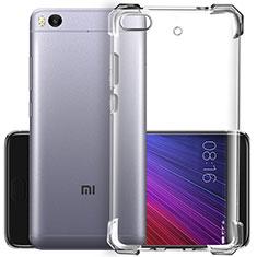 Silikon Schutzhülle Ultra Dünn Tasche Durchsichtig Transparent T02 für Xiaomi Mi 5S Klar