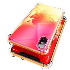 Silikon Schutzhülle Ultra Dünn Tasche Durchsichtig Transparent T02 für Xiaomi Mi 8 Screen Fingerprint Edition Klar