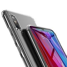 Silikon Schutzhülle Ultra Dünn Tasche Durchsichtig Transparent T02 für Xiaomi Mi 8 SE Klar