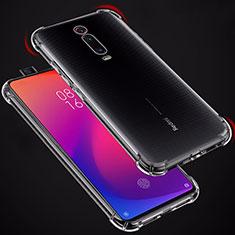 Silikon Schutzhülle Ultra Dünn Tasche Durchsichtig Transparent T02 für Xiaomi Mi 9T Klar