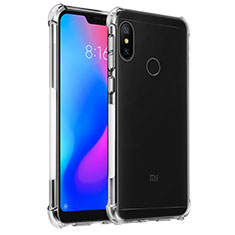 Silikon Schutzhülle Ultra Dünn Tasche Durchsichtig Transparent T02 für Xiaomi Mi A2 Lite Klar