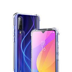 Silikon Schutzhülle Ultra Dünn Tasche Durchsichtig Transparent T02 für Xiaomi Mi A3 Klar