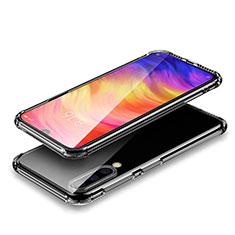 Silikon Schutzhülle Ultra Dünn Tasche Durchsichtig Transparent T02 für Xiaomi Mi A3 Lite Klar