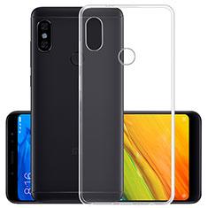 Silikon Schutzhülle Ultra Dünn Tasche Durchsichtig Transparent T02 für Xiaomi Mi Max 3 Klar