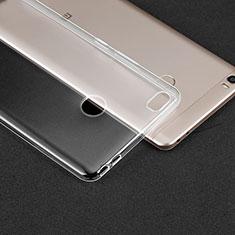 Silikon Schutzhülle Ultra Dünn Tasche Durchsichtig Transparent T02 für Xiaomi Mi Max Klar