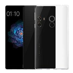 Silikon Schutzhülle Ultra Dünn Tasche Durchsichtig Transparent T02 für Xiaomi Mi Mix Klar