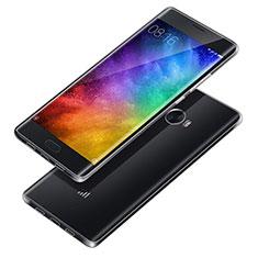 Silikon Schutzhülle Ultra Dünn Tasche Durchsichtig Transparent T02 für Xiaomi Mi Note 2 Special Edition Klar