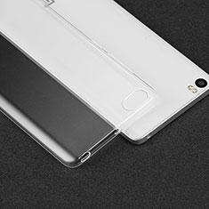 Silikon Schutzhülle Ultra Dünn Tasche Durchsichtig Transparent T02 für Xiaomi Mi Note Klar
