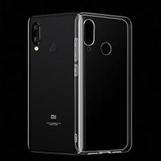 Silikon Schutzhülle Ultra Dünn Tasche Durchsichtig Transparent T02 für Xiaomi Mi Play 4G Klar