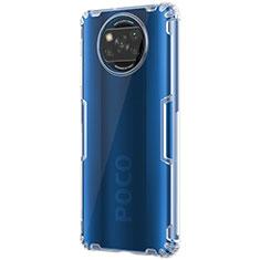 Silikon Schutzhülle Ultra Dünn Tasche Durchsichtig Transparent T02 für Xiaomi Poco X3 NFC Klar