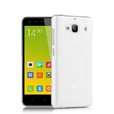 Silikon Schutzhülle Ultra Dünn Tasche Durchsichtig Transparent T02 für Xiaomi Redmi 2A Klar