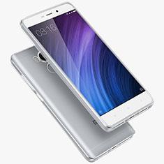 Silikon Schutzhülle Ultra Dünn Tasche Durchsichtig Transparent T02 für Xiaomi Redmi 4 Prime High Edition Klar