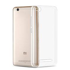 Silikon Schutzhülle Ultra Dünn Tasche Durchsichtig Transparent T02 für Xiaomi Redmi 4A Klar
