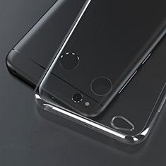 Silikon Schutzhülle Ultra Dünn Tasche Durchsichtig Transparent T02 für Xiaomi Redmi 4X Klar