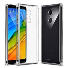 Silikon Schutzhülle Ultra Dünn Tasche Durchsichtig Transparent T02 für Xiaomi Redmi 5 Klar