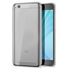 Silikon Schutzhülle Ultra Dünn Tasche Durchsichtig Transparent T02 für Xiaomi Redmi 5A Klar