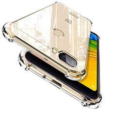 Silikon Schutzhülle Ultra Dünn Tasche Durchsichtig Transparent T02 für Xiaomi Redmi 6 Klar