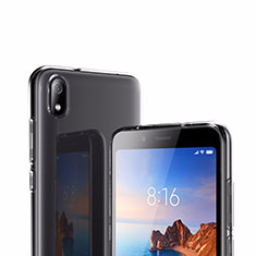 Silikon Schutzhülle Ultra Dünn Tasche Durchsichtig Transparent T02 für Xiaomi Redmi 7A Klar