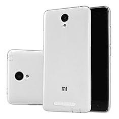 Silikon Schutzhülle Ultra Dünn Tasche Durchsichtig Transparent T02 für Xiaomi Redmi Note 2 Klar