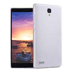 Silikon Schutzhülle Ultra Dünn Tasche Durchsichtig Transparent T02 für Xiaomi Redmi Note 4G Klar