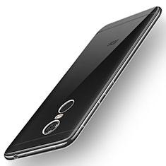 Silikon Schutzhülle Ultra Dünn Tasche Durchsichtig Transparent T02 für Xiaomi Redmi Note 5 Indian Version Klar