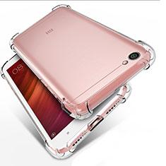 Silikon Schutzhülle Ultra Dünn Tasche Durchsichtig Transparent T02 für Xiaomi Redmi Note 5A Standard Edition Klar