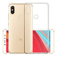 Silikon Schutzhülle Ultra Dünn Tasche Durchsichtig Transparent T02 für Xiaomi Redmi S2 Klar