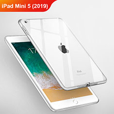 Silikon Schutzhülle Ultra Dünn Tasche Durchsichtig Transparent T03 für Apple iPad Mini 5 (2019) Klar