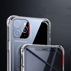 Silikon Schutzhülle Ultra Dünn Tasche Durchsichtig Transparent T03 für Apple iPhone 11 Pro Max Klar