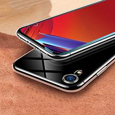 Silikon Schutzhülle Ultra Dünn Tasche Durchsichtig Transparent T03 für Apple iPhone XR Klar