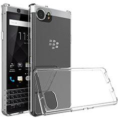 Silikon Schutzhülle Ultra Dünn Tasche Durchsichtig Transparent T03 für Blackberry KEYone Klar