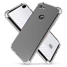 Silikon Schutzhülle Ultra Dünn Tasche Durchsichtig Transparent T03 für Google Pixel 3a XL Klar