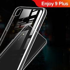 Silikon Schutzhülle Ultra Dünn Tasche Durchsichtig Transparent T03 für Huawei Enjoy 9 Plus Klar
