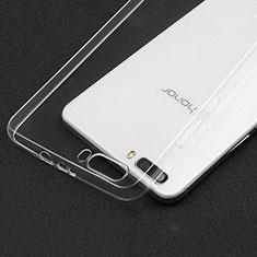Silikon Schutzhülle Ultra Dünn Tasche Durchsichtig Transparent T03 für Huawei Honor 6 Plus Klar