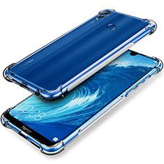 Silikon Schutzhülle Ultra Dünn Tasche Durchsichtig Transparent T03 für Huawei Honor 8X Max Klar