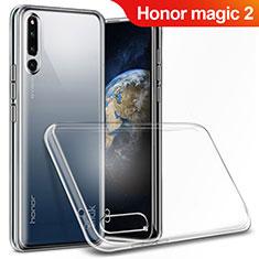 Silikon Schutzhülle Ultra Dünn Tasche Durchsichtig Transparent T03 für Huawei Honor Magic 2 Klar