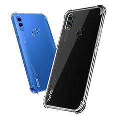 Silikon Schutzhülle Ultra Dünn Tasche Durchsichtig Transparent T03 für Huawei Honor Note 10 Klar