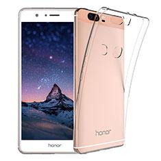 Silikon Schutzhülle Ultra Dünn Tasche Durchsichtig Transparent T03 für Huawei Honor V8 Klar