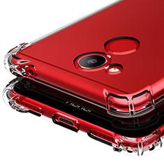 Silikon Schutzhülle Ultra Dünn Tasche Durchsichtig Transparent T03 für Huawei Honor V9 Play Klar