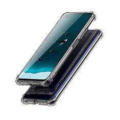 Silikon Schutzhülle Ultra Dünn Tasche Durchsichtig Transparent T03 für Huawei Honor View 30 5G Klar