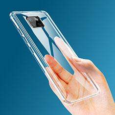 Silikon Schutzhülle Ultra Dünn Tasche Durchsichtig Transparent T03 für Huawei Mate 20 Pro Klar