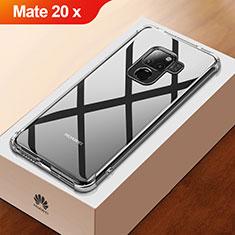 Silikon Schutzhülle Ultra Dünn Tasche Durchsichtig Transparent T03 für Huawei Mate 20 X 5G Klar