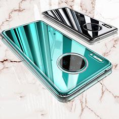Silikon Schutzhülle Ultra Dünn Tasche Durchsichtig Transparent T03 für Huawei Mate 30 Pro Klar