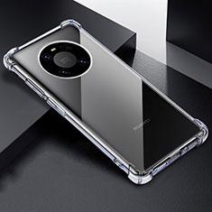 Silikon Schutzhülle Ultra Dünn Tasche Durchsichtig Transparent T03 für Huawei Mate 40 Pro Klar