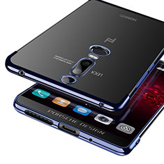 Silikon Schutzhülle Ultra Dünn Tasche Durchsichtig Transparent T03 für Huawei Mate RS Blau