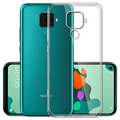 Silikon Schutzhülle Ultra Dünn Tasche Durchsichtig Transparent T03 für Huawei Nova 5z Klar