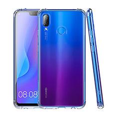 Silikon Schutzhülle Ultra Dünn Tasche Durchsichtig Transparent T03 für Huawei P Smart+ Plus Klar